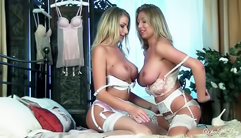 Danielle Maye - Couple of lesbians are making a home video here