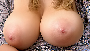 Viola Paige - Honey blonde with massive tits getting naked