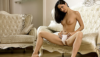 Aruna Aghora - A rich honnie is left alone to masturbate