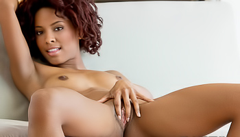 Spencer Bliss - Ebony girl is taking off her see through shirt
