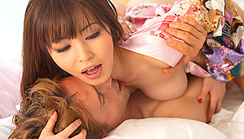 Marika Hase - Tempting Oriental beauty sucking cock and getting fucked