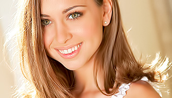 Riley Reid - A gorgeous looking strawberry blonde slowly strips