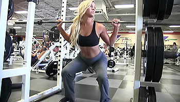 Embry FTV - After getting home from the gym blonde masturbates