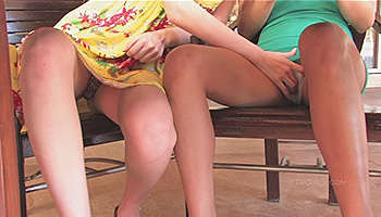 Faye FTV - A cold coffee makes these dykes hot for each other