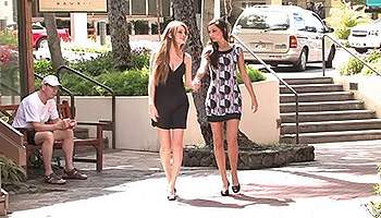 Faye FTV - A gorgeous pair of lesbian hotties get naked and jiggy