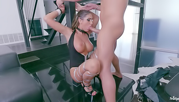 August Ames - Sexy couple is having a lot of fun together
