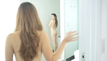 Cassie Laine - Alone time in the shower turns into a hot lesbian encounter
