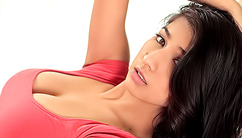 Megan Salinas - Gorgeous brown skinned lady in a red dress