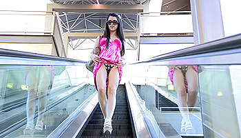 Lacey FTV - A dark haired slutty teen gets her cunt off