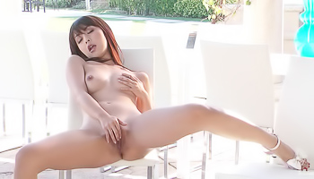 Marica Hase - A hot Asian squirts after she takes off her bikini